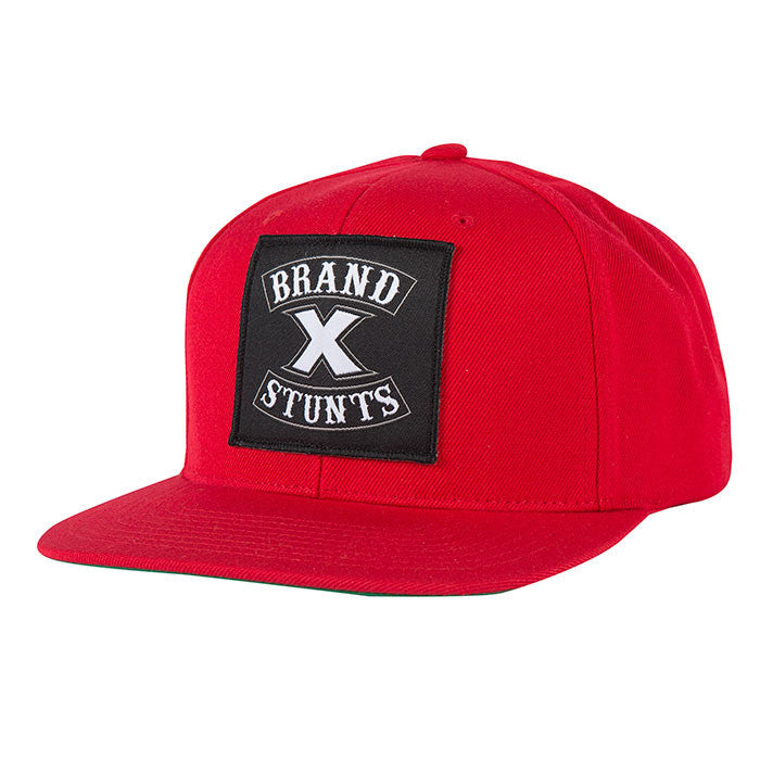 Fasthouse - Brand X Crew Hat - Red