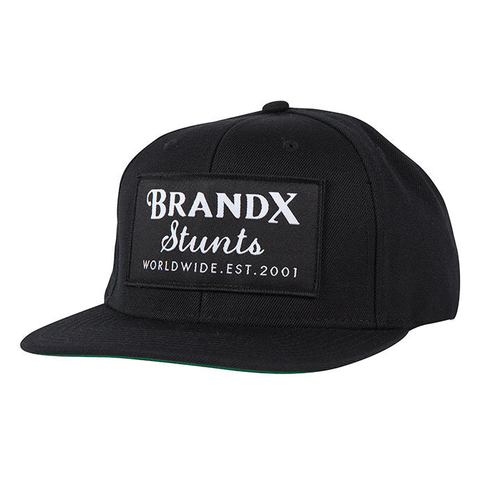 Brand X Worldwide Hat Black
