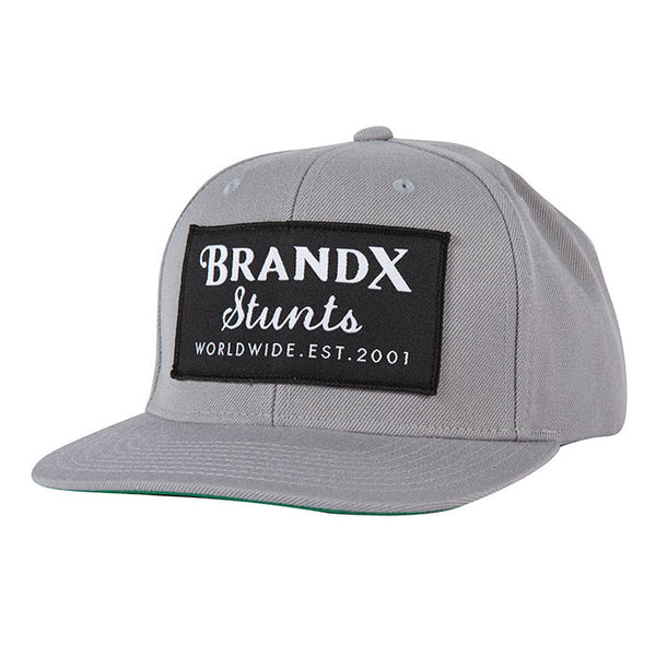 Brand X Worldwide Hat - Grey