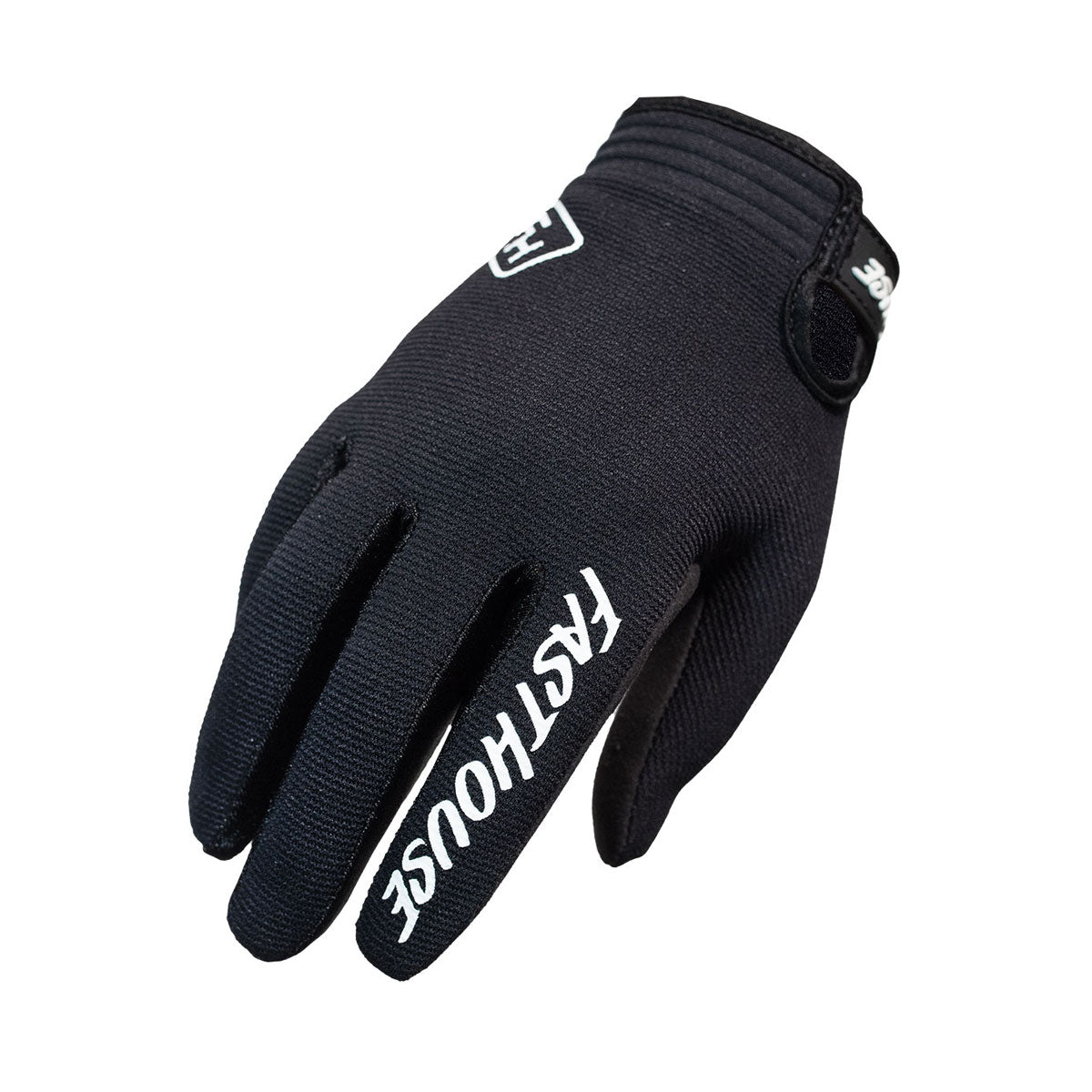 Fasthouse Carbon Youth Glove- Black