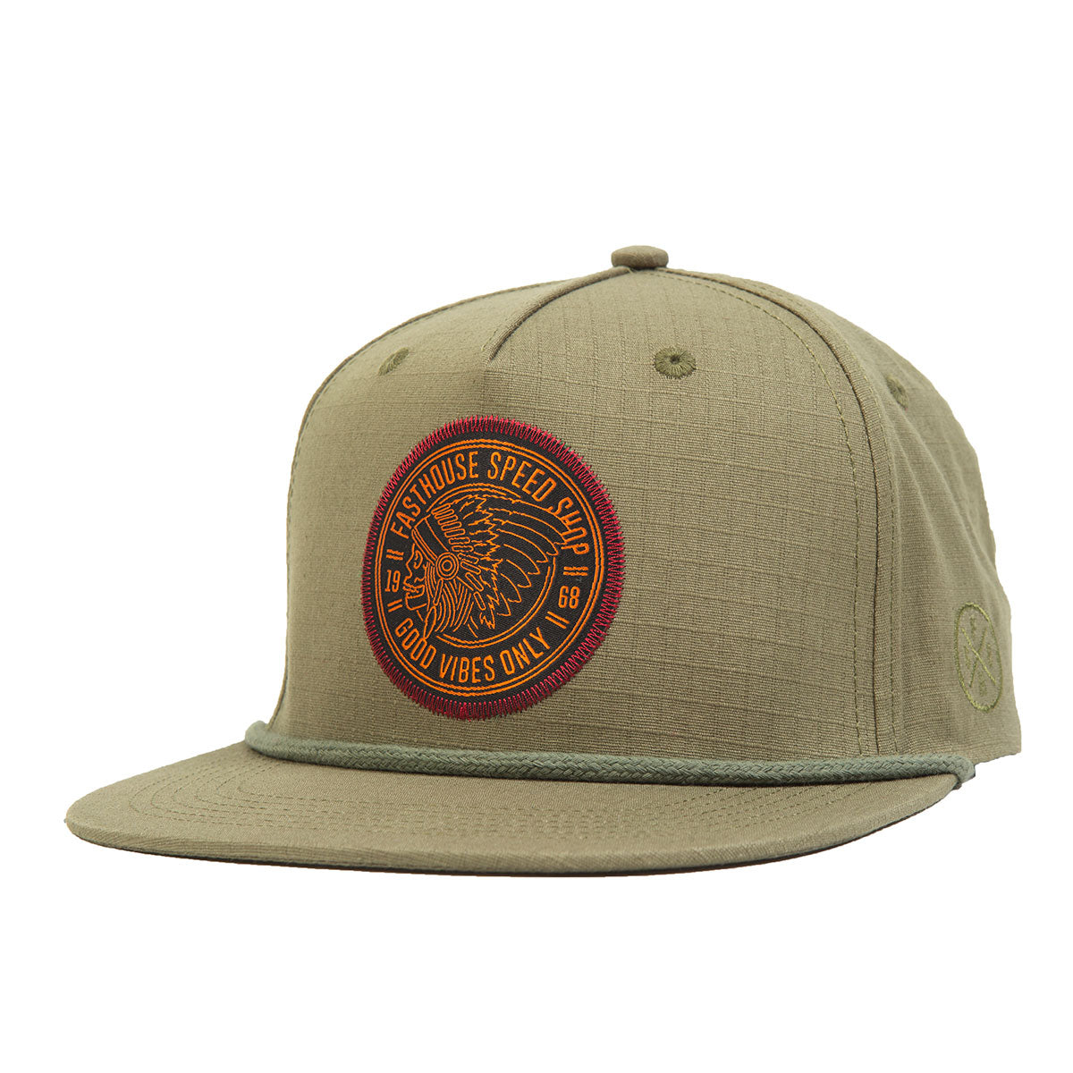 Fasthouse - Chief Hat - Olive