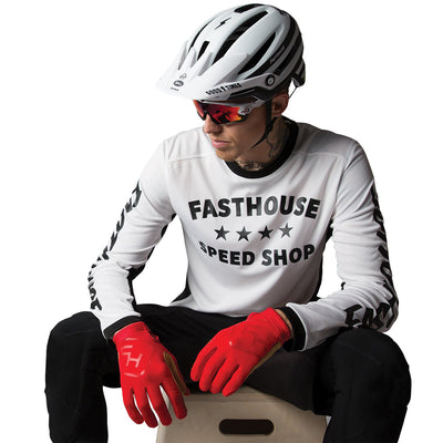 Fasthouse - Dropper MTB Jersey - White