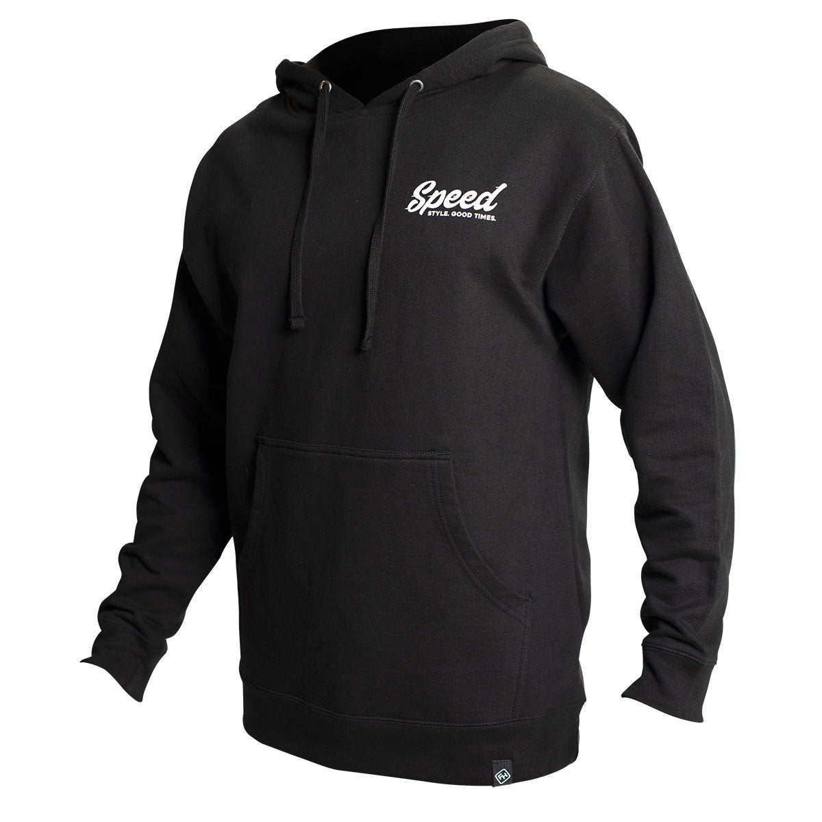 Enfield Hooded Pullover - Black
