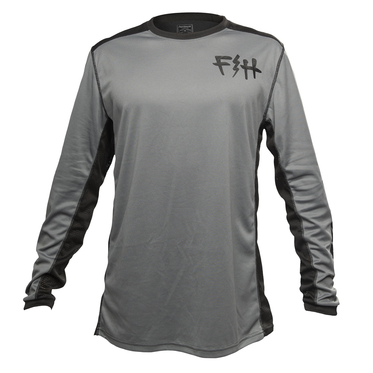 Fast Bolt MTB Jersey - Heather Grey