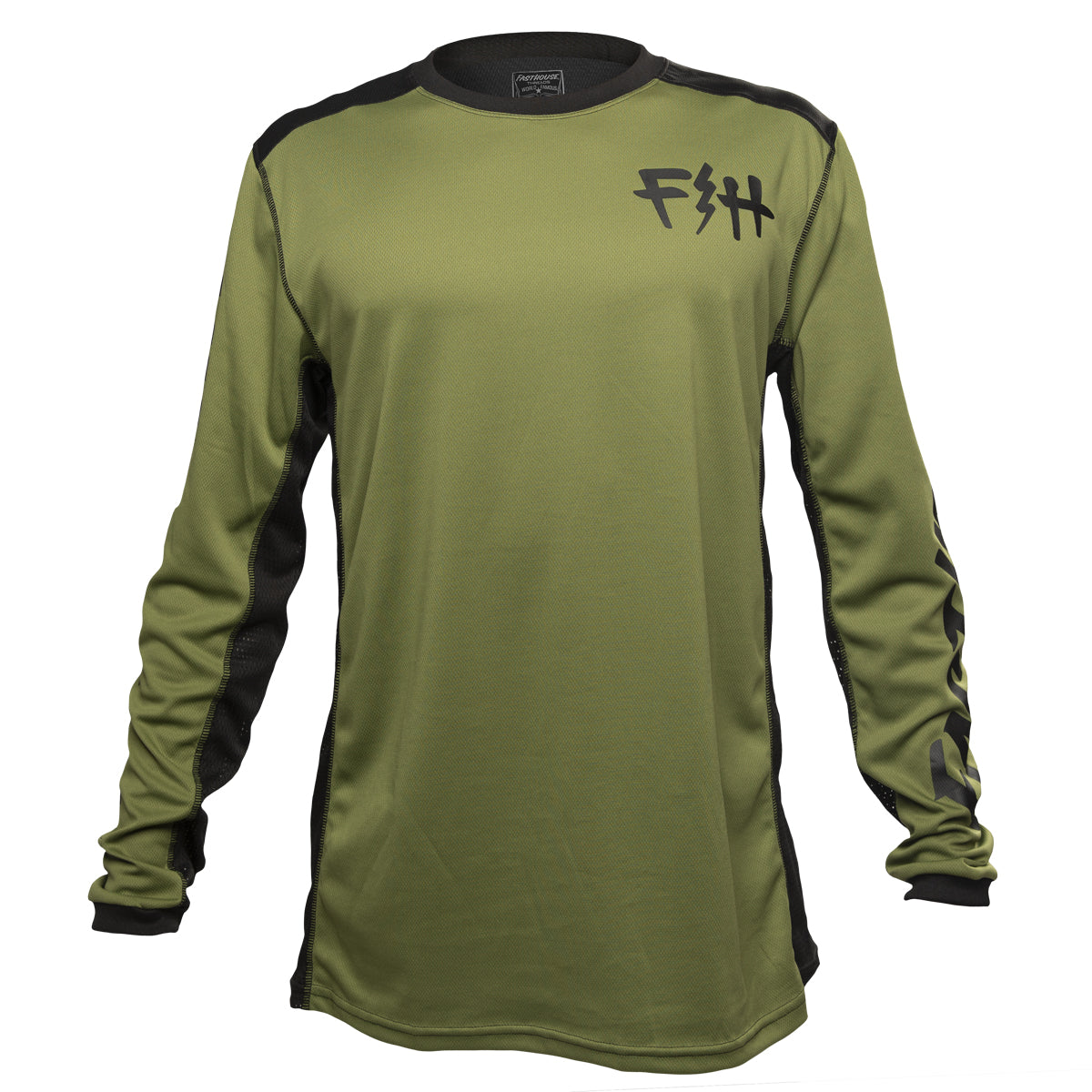 Fasthouse - Fast Bolt MTB Jersey - Olive