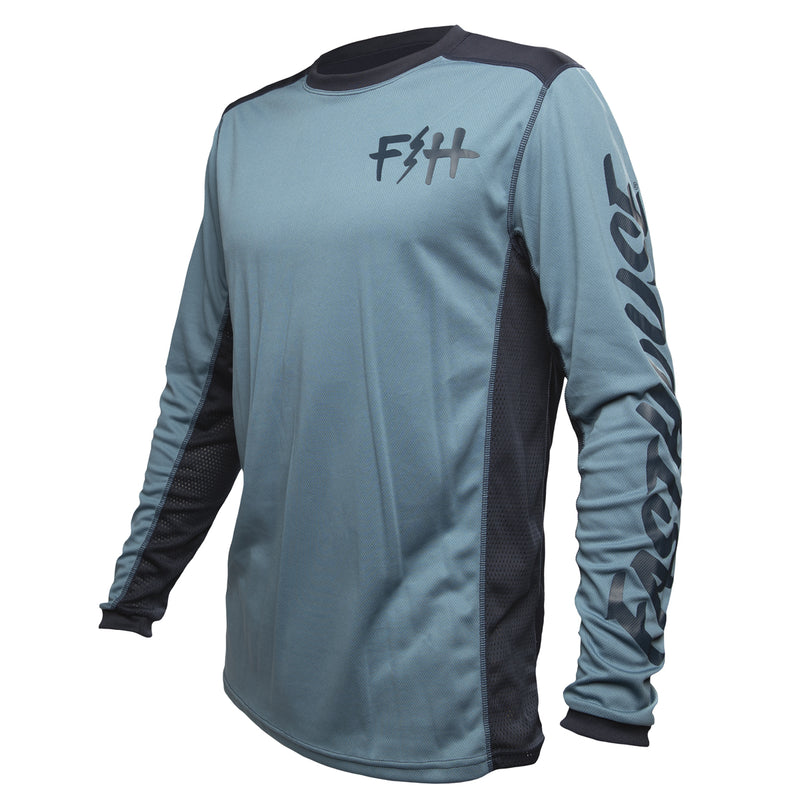 Fasthouse - Fast Bolt MTB Jersey - Slate