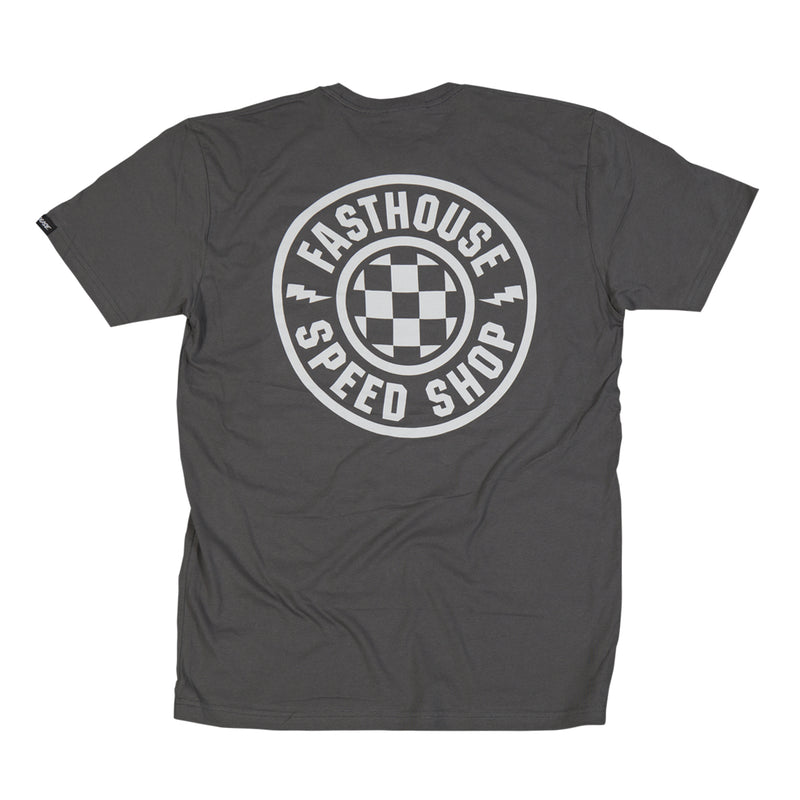 Fasthouse - Fast Shop Heavy Metal Tee - Grey