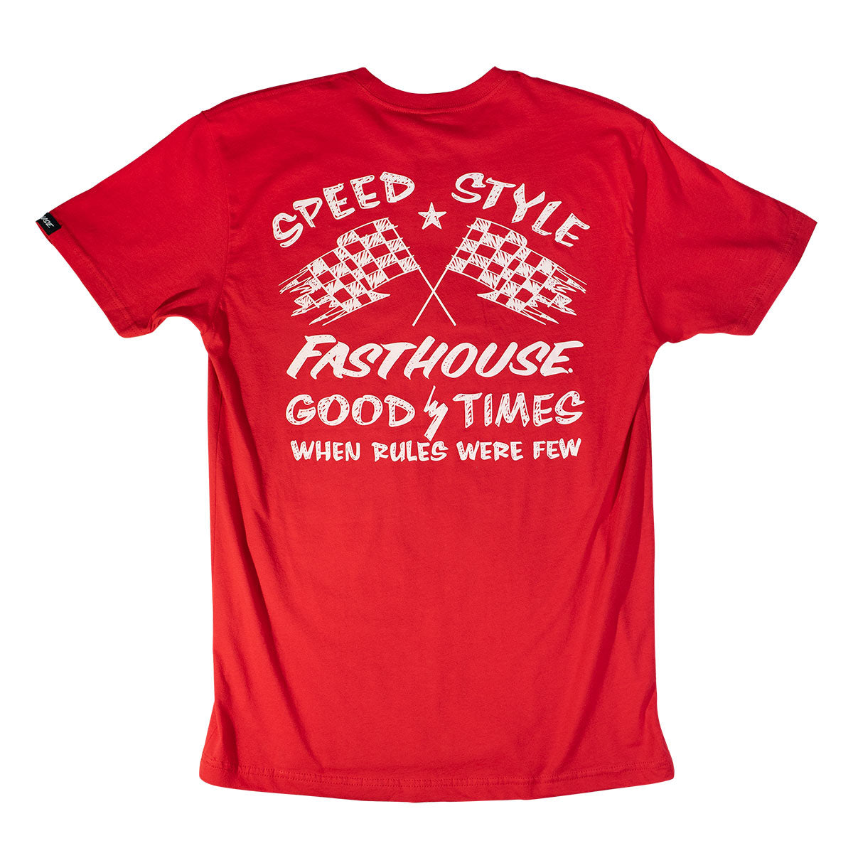 Fasthouse - Finish Line Tee - Red
