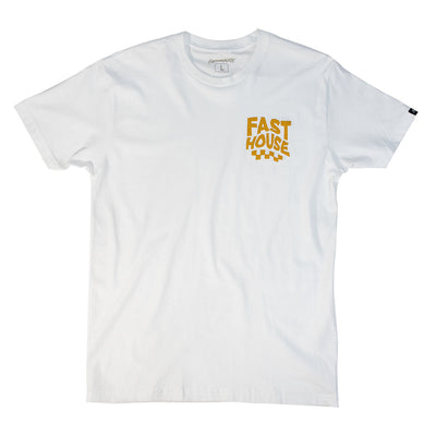 Fasthouse - Flux Tee - White
