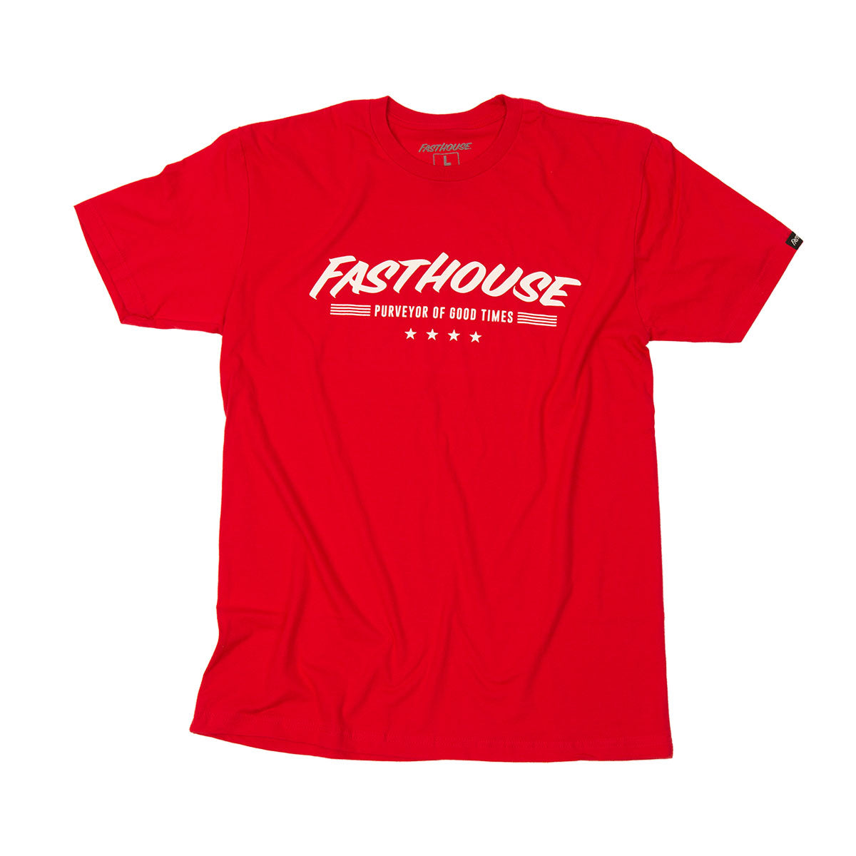 Fasthouse - Four Stars Youth Tee - Red