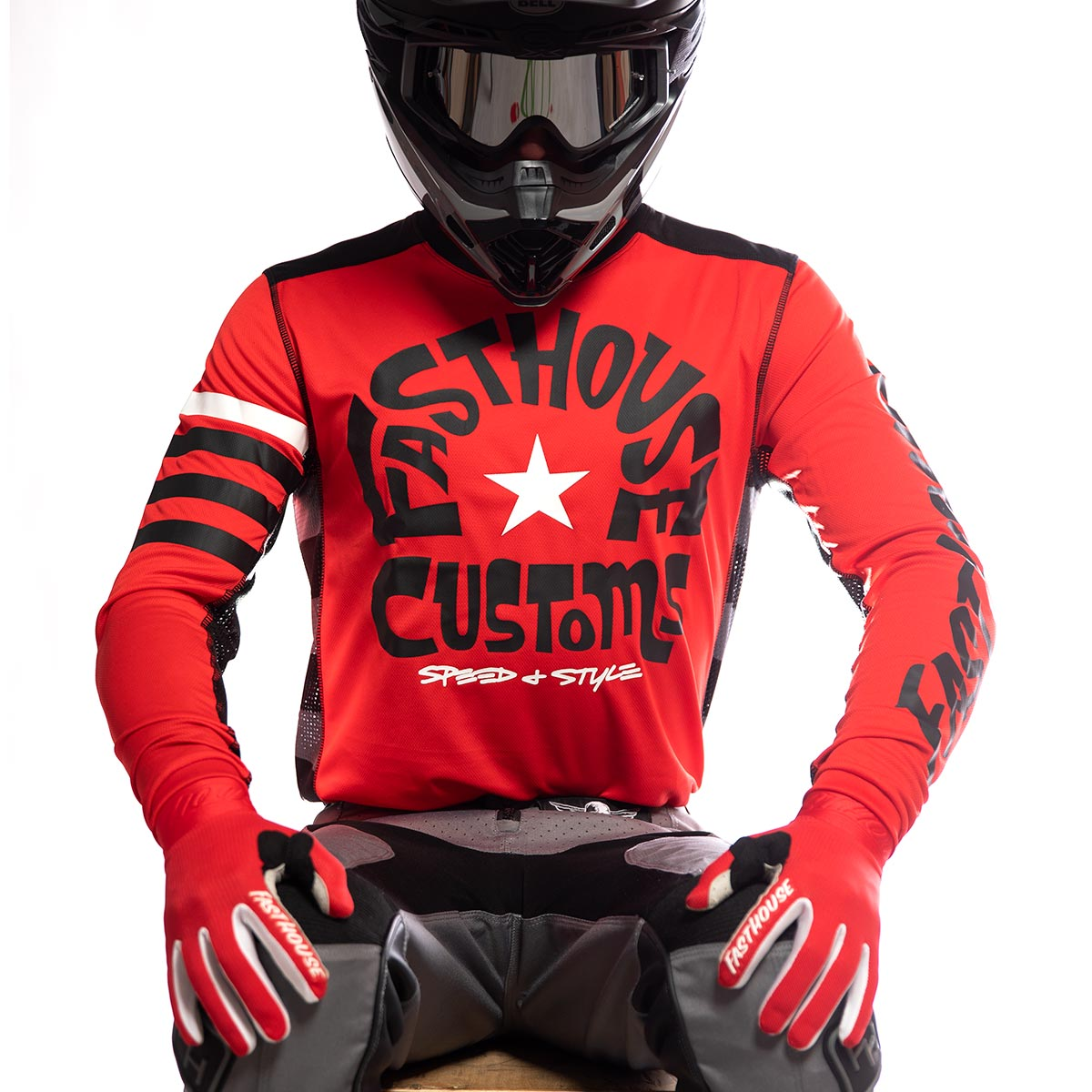 Fasthouse - Funkhouse Jersey - Red