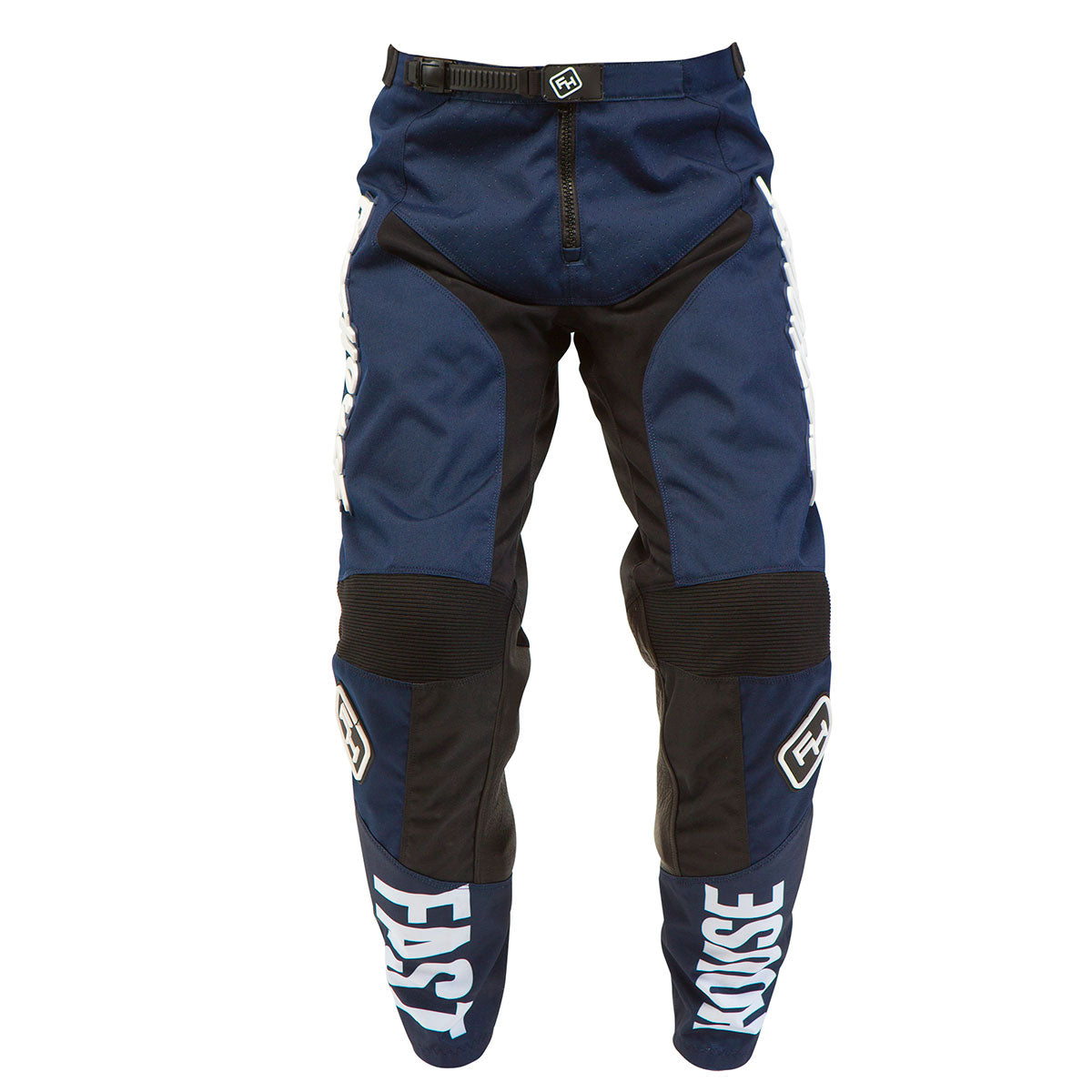 Fasthouse Grindhouse Mens Dirt Bike Motorcycle Pants Navy Blue Size 32