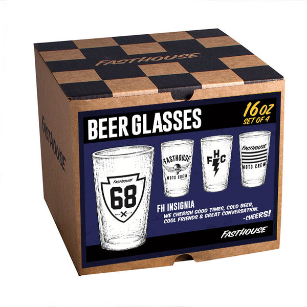FH Insignia Glasses - 4 per box