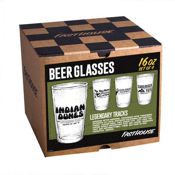 Legendary Tracks Glasses - 4 per box
