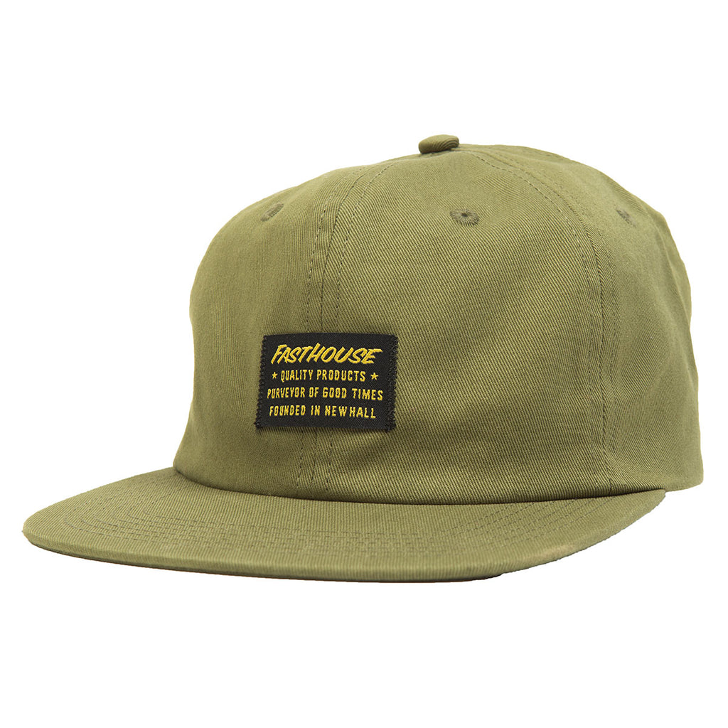 Fasthouse Neighborhood Unstructured Hat Olive 63e58ad3793