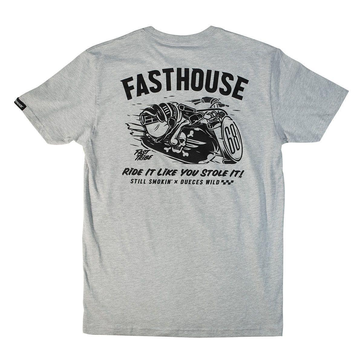 Fasthouse - Octane Tee - Heather Grey