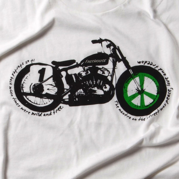 Peace Bike - White