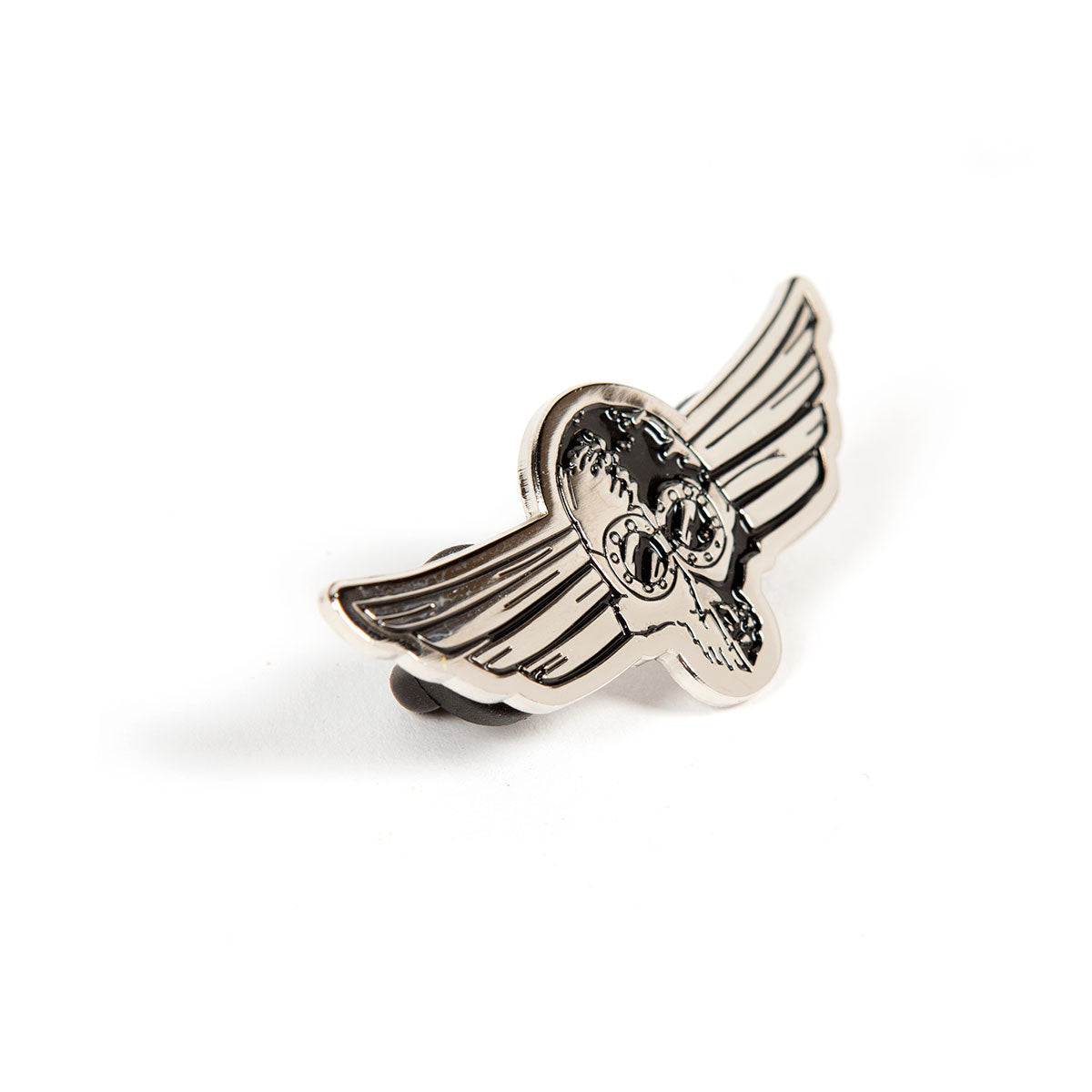 Fasthouse - Wings Pin - Silver