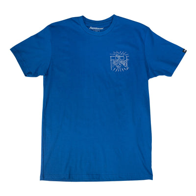 Fasthouse - Piston Tee - Cool Blue