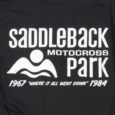 Saddleback 84 Tee - Black