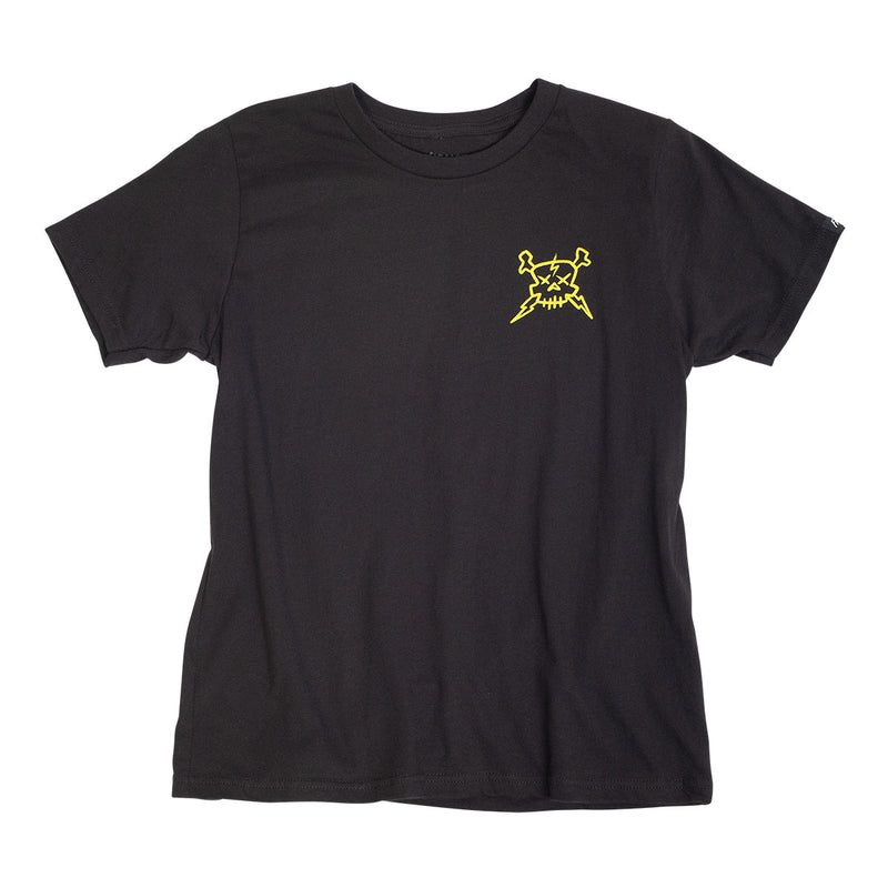Slapper Youth Tee - Black