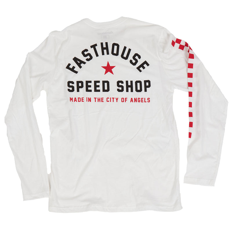 Fasthouse - STAR LS Tee - White