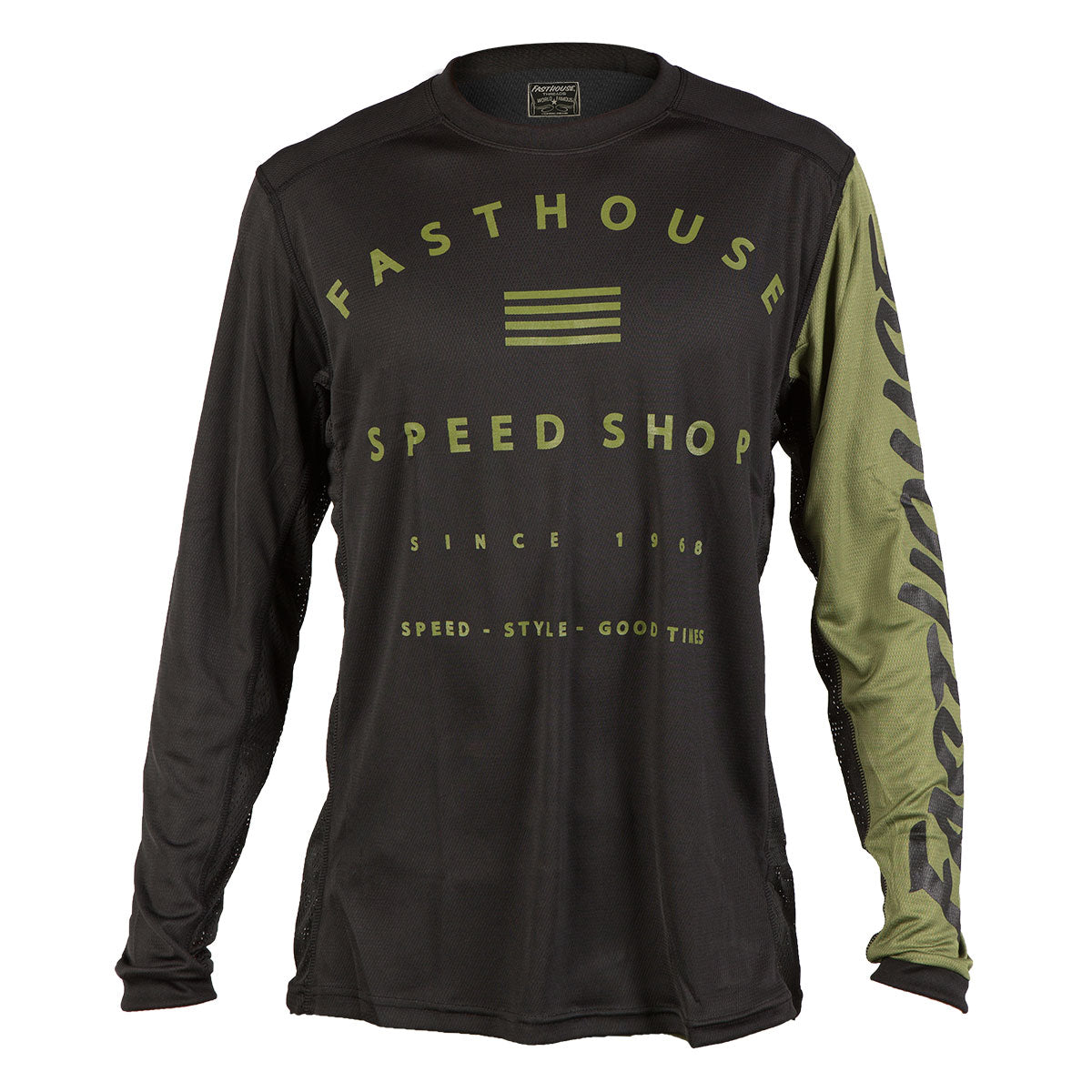Fasthouse - Fastline Speed Shop MTB Jersey - Olive