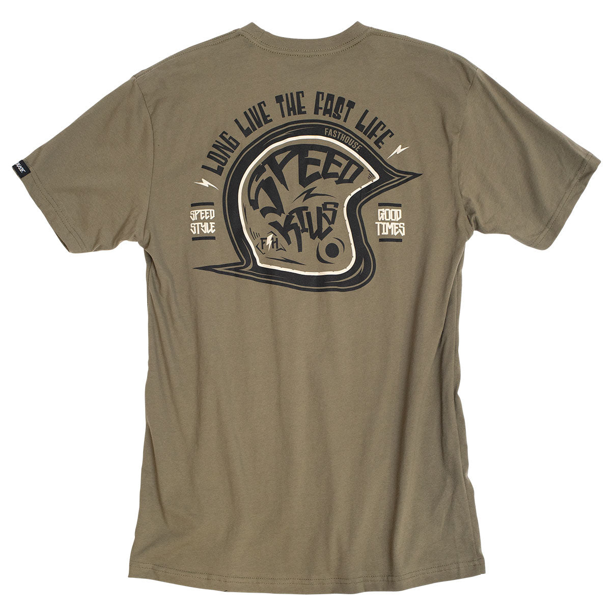 Speedster Tee - Military Green