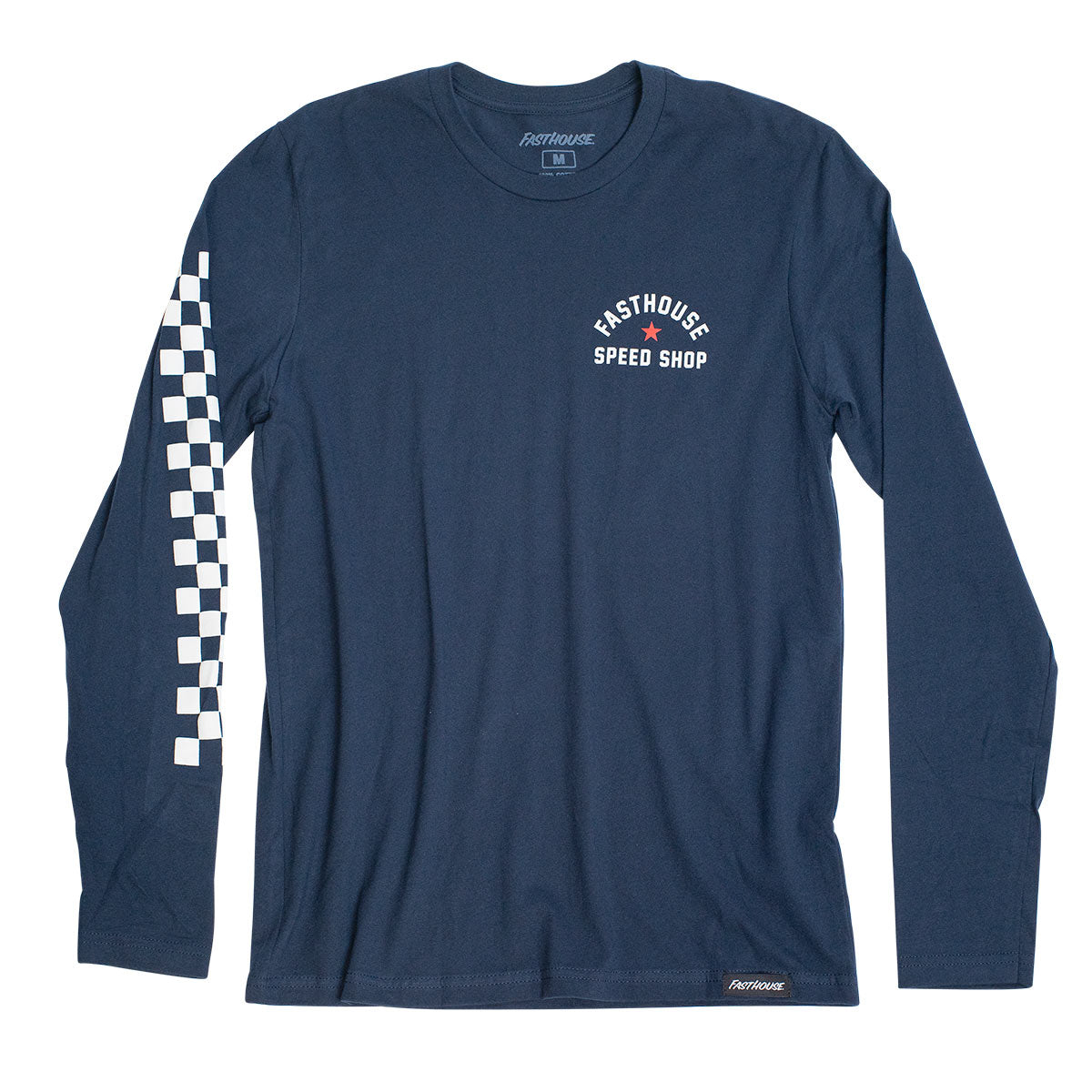 Star LS Tee - Navy