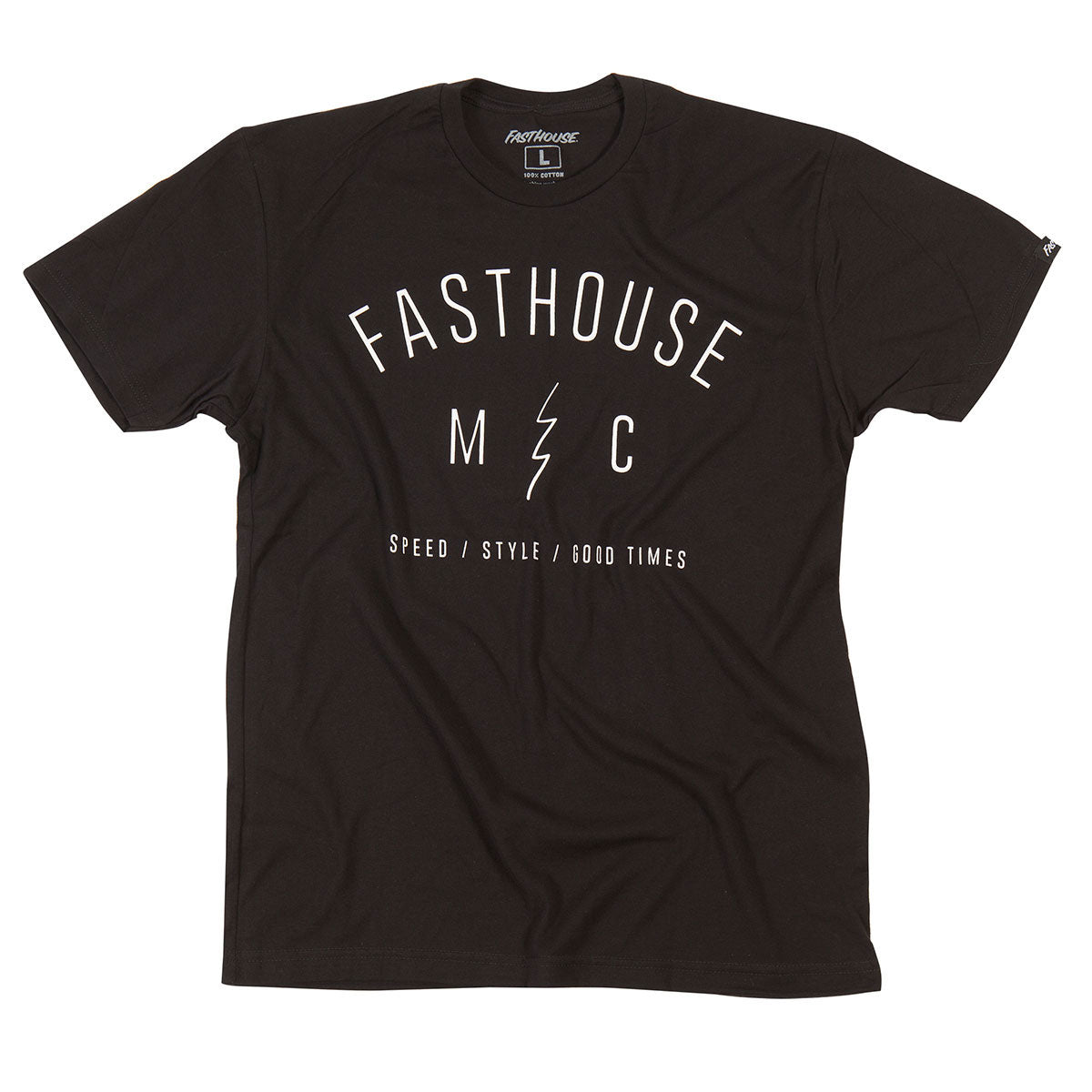 Fasthouse - Static Tee - Black