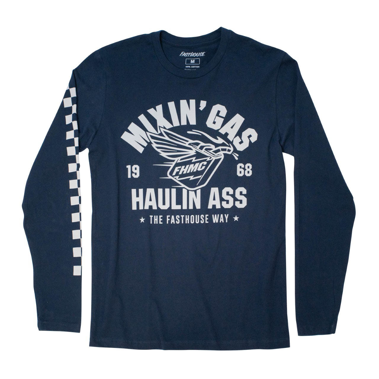 Mixing Gas Pro Am LS Tee - Navy