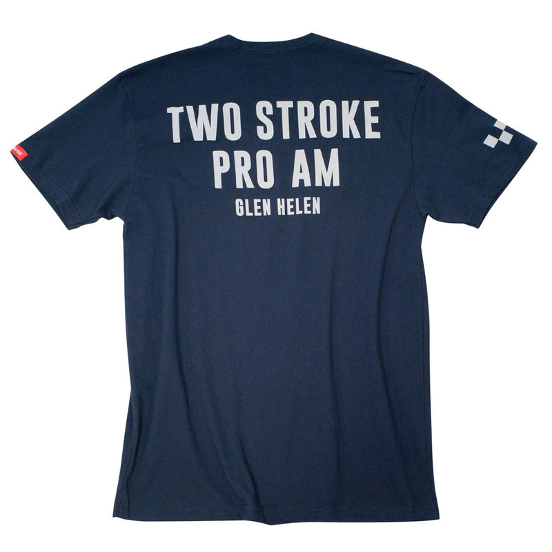 Mixing Gas Pro Am SS Tee - Navy