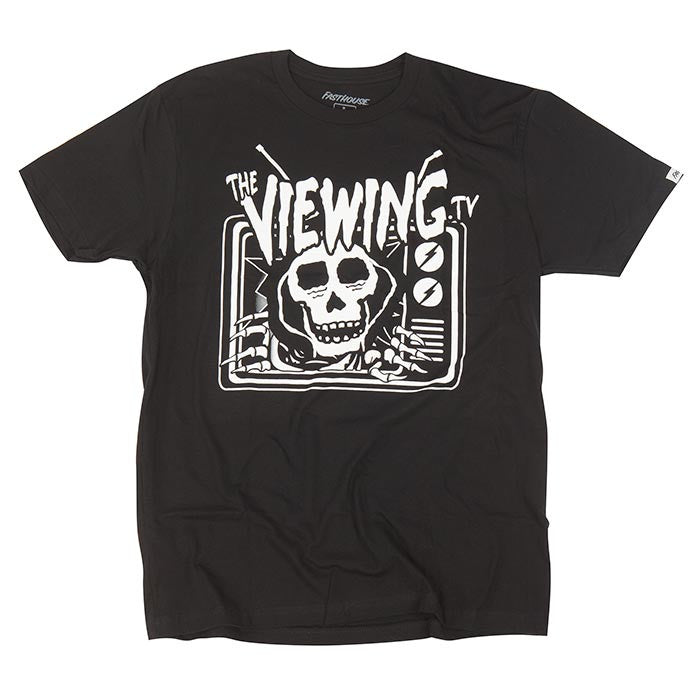 Fasthouse - Viewing Break Your TV Tee - Black