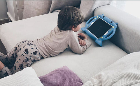 kids become addicted to tablets and smart phones