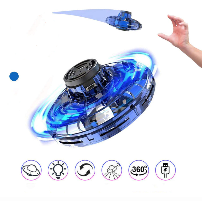 Flynova flying fidget spinner toy