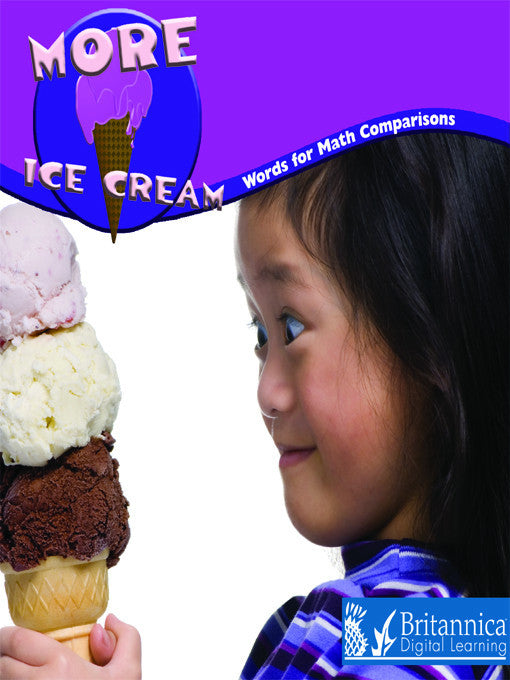 More Ice Cream: Words for Math Comparisons