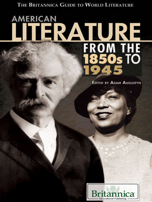 American Literature from the 1850s to 1945