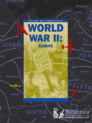 World War II: Europe (Atlas of Conflicts)