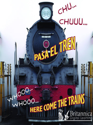 CHU… CHUUU… Pasa el tren (WHOOO, WHOOO… Here Come the Trains)