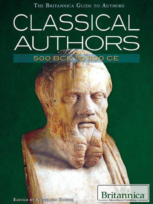 Classical Authors: 500 BCE to 1100 CE