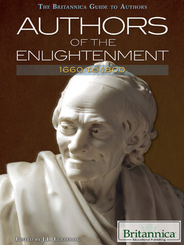 Authors of The Enlightenment: 1660 to 1800
