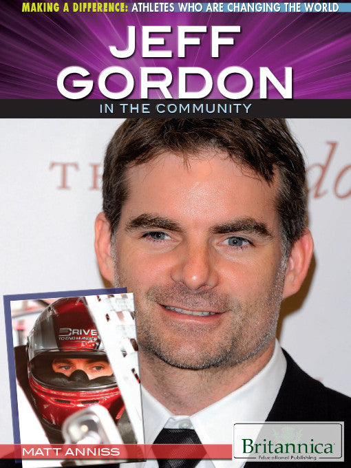 Jeff Gordon in the Community