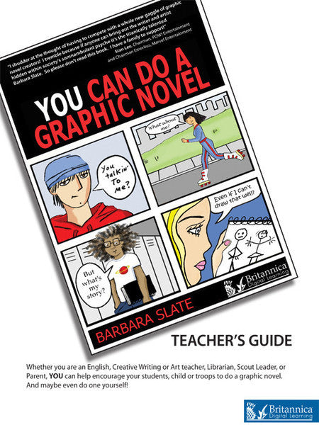 You Can Do a Graphic Novel Teacher's Guide
