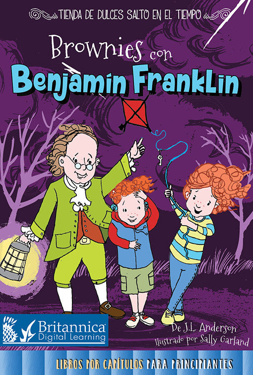 Brownies con Benjamín Franklin (Brownies with Benjamin Franklin)