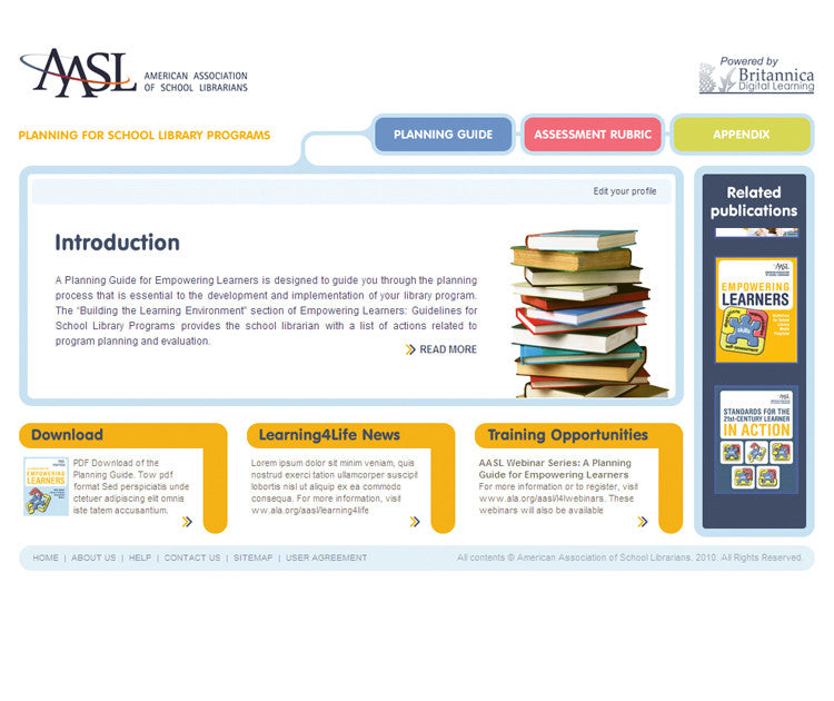 A Planning Guide for Empowering Learners (AASL)