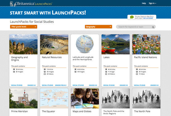 LaunchPacks: Social Studies