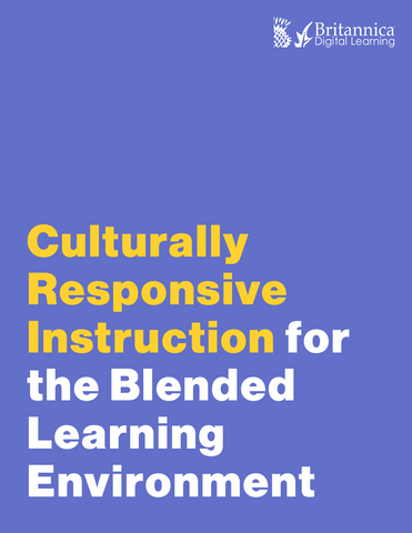 Professional Learning Cohort: Culturally Responsive Instruction in a Blended Learning Environment