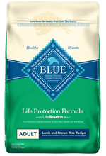 Load image into Gallery viewer, Blue Buffalo Life Protection Natural Lamb & Brown Rice Recipe Adult Dry Dog Food