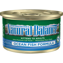 Load image into Gallery viewer, Natural Balance Ocean Fish Canned Cat Food