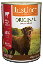Load image into Gallery viewer, Instinct Grain-Free Beef Formula Canned Dog Food